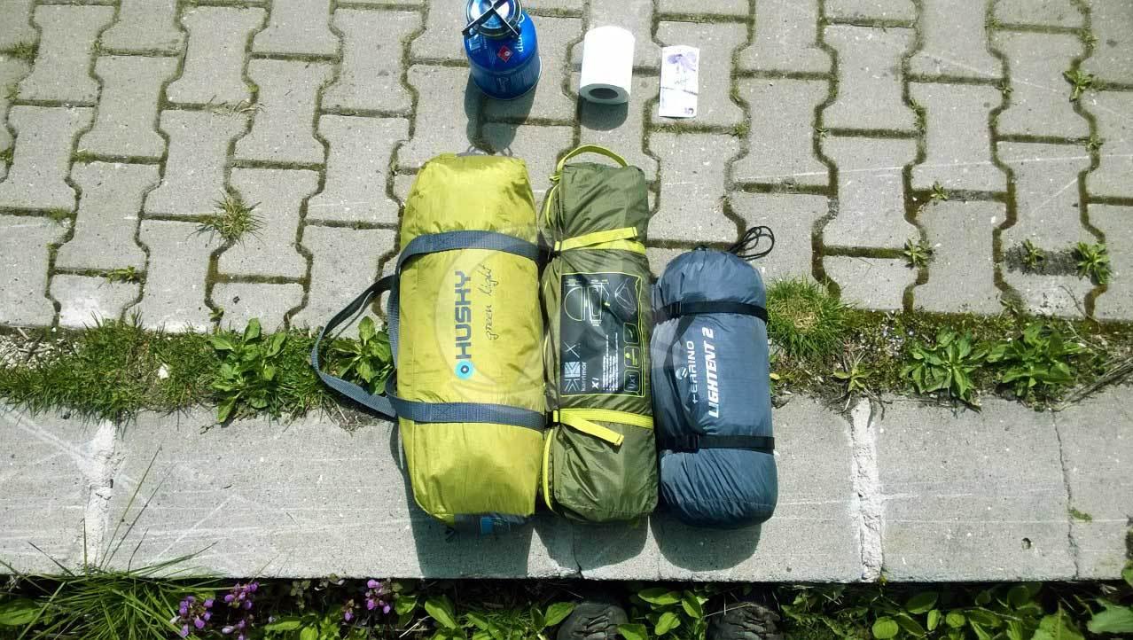 çadır paket hacmi