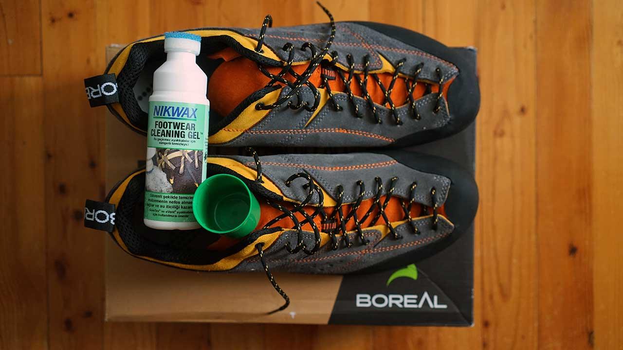 nikwax footwear cleaning gel ayakkabı temizlik solüsyonu
