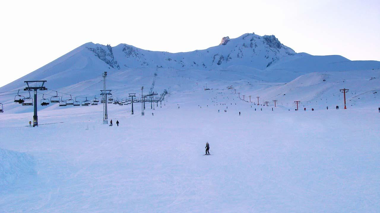 Erciyes Dağı manzara