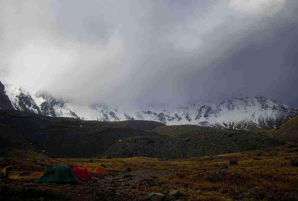 Erciyes Çoban ini kamp