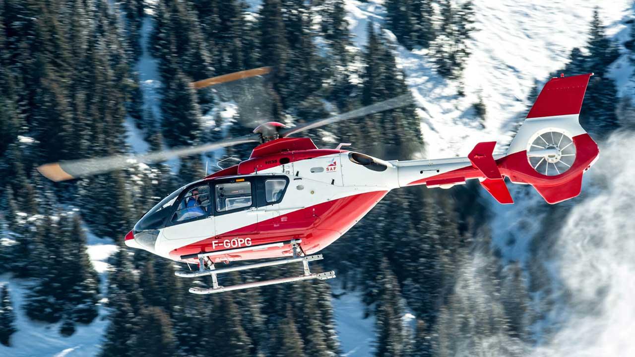 dağ kazası helikopter kurtarma