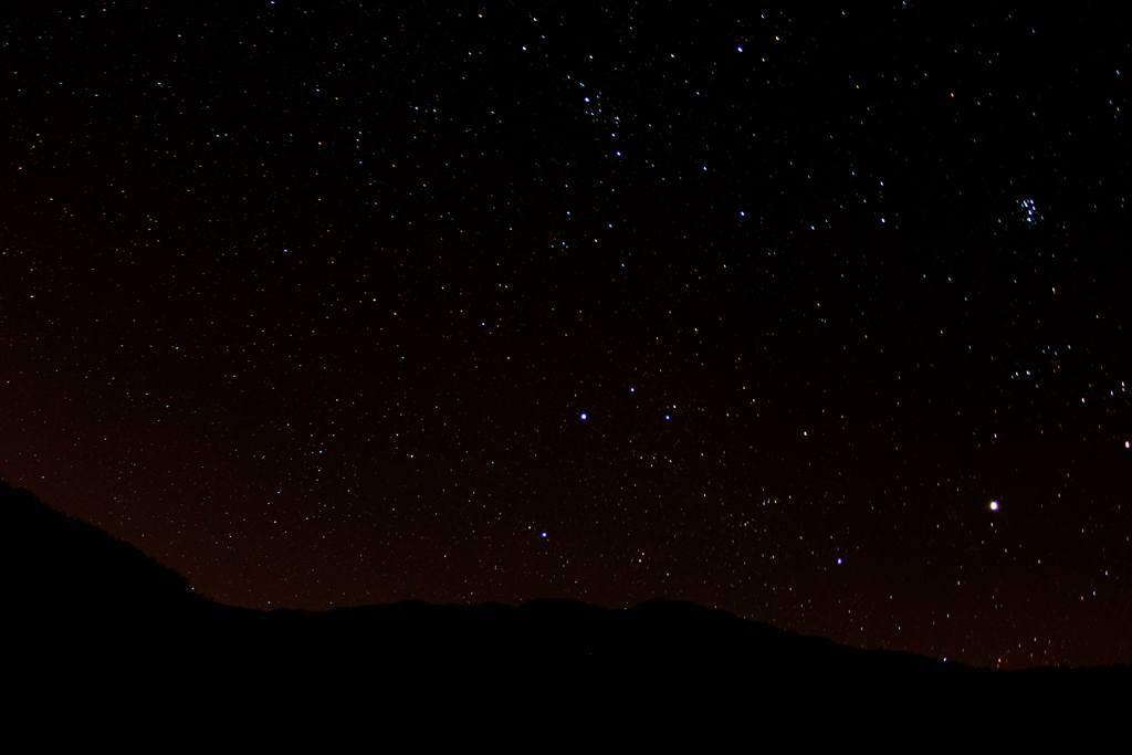 Ketenli Yaylası gece yıldızlar