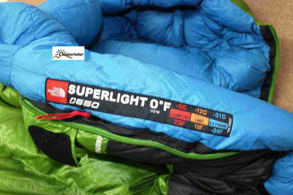 The North Face Superlight uyku tulumu