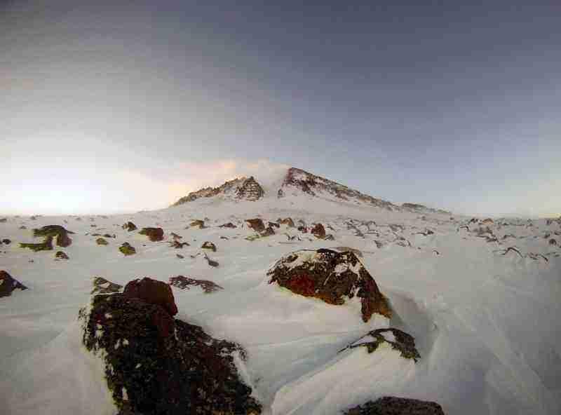 Hasan Dağı Yılan Kar Rotası