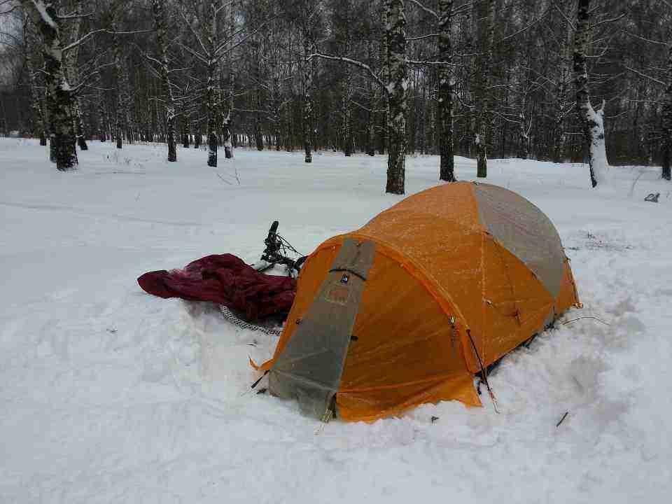 Uzun bir süre, bu koşullarda yorgunluk üstüne kamp attığınızı düşünün. :)