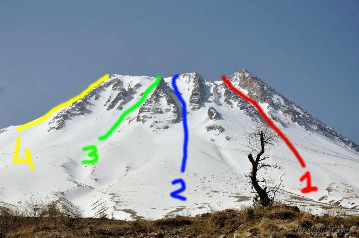 Hasan Dağı kuzey rotalar