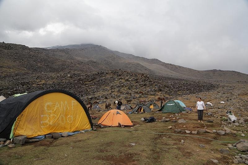 ağrı dağı 3200 kamp alanı