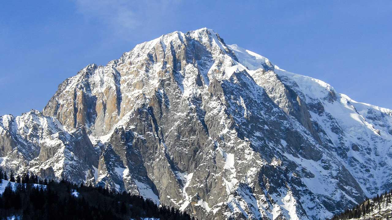 Mont Blanc Dağı
