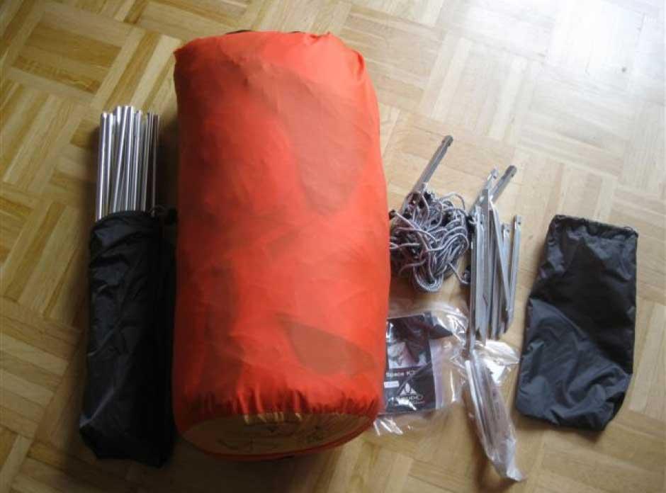 vaude space k2 paket