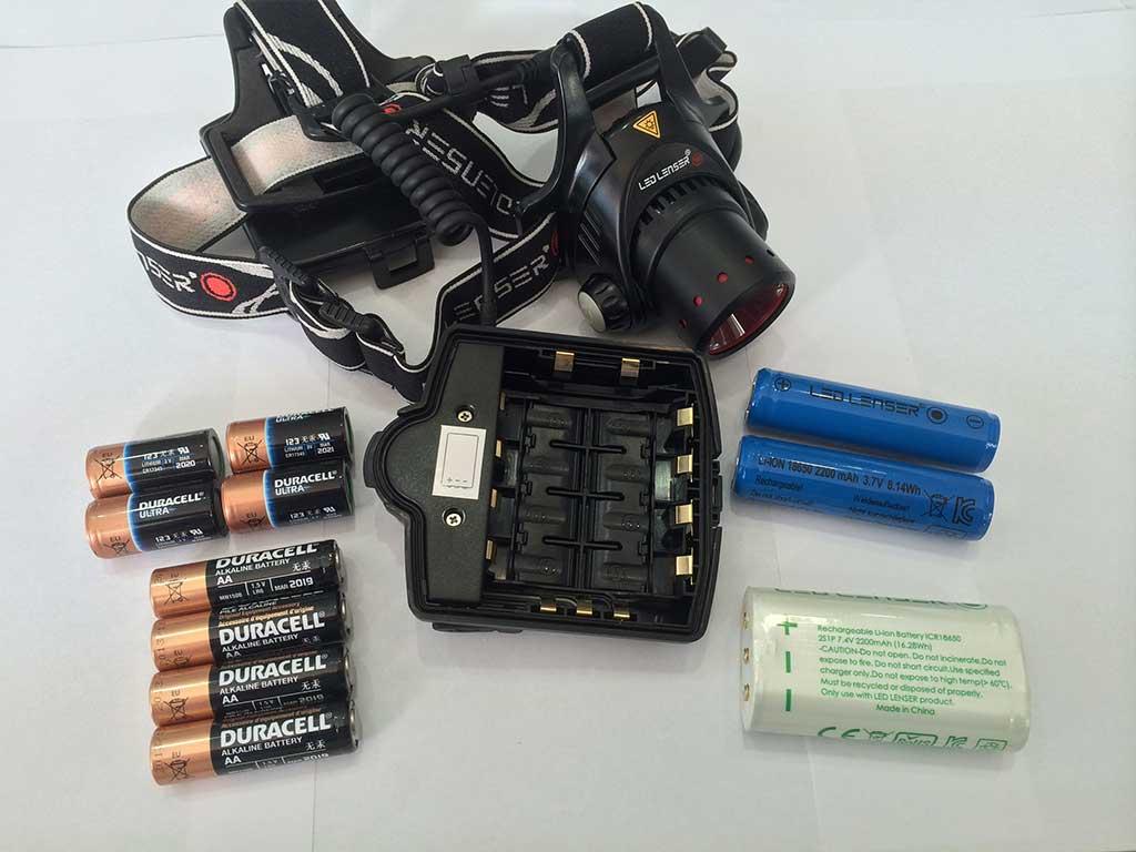 led lenser batarya