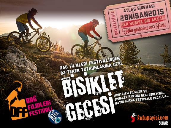 Dağ Filmleri Festivali Bisiklet Gecesi