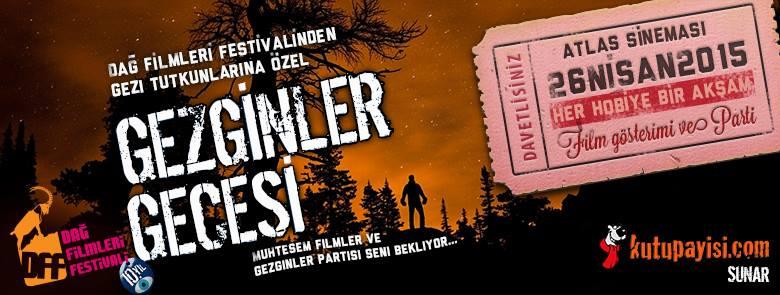 Dağ Filmleri Festivali gezginler gecesi