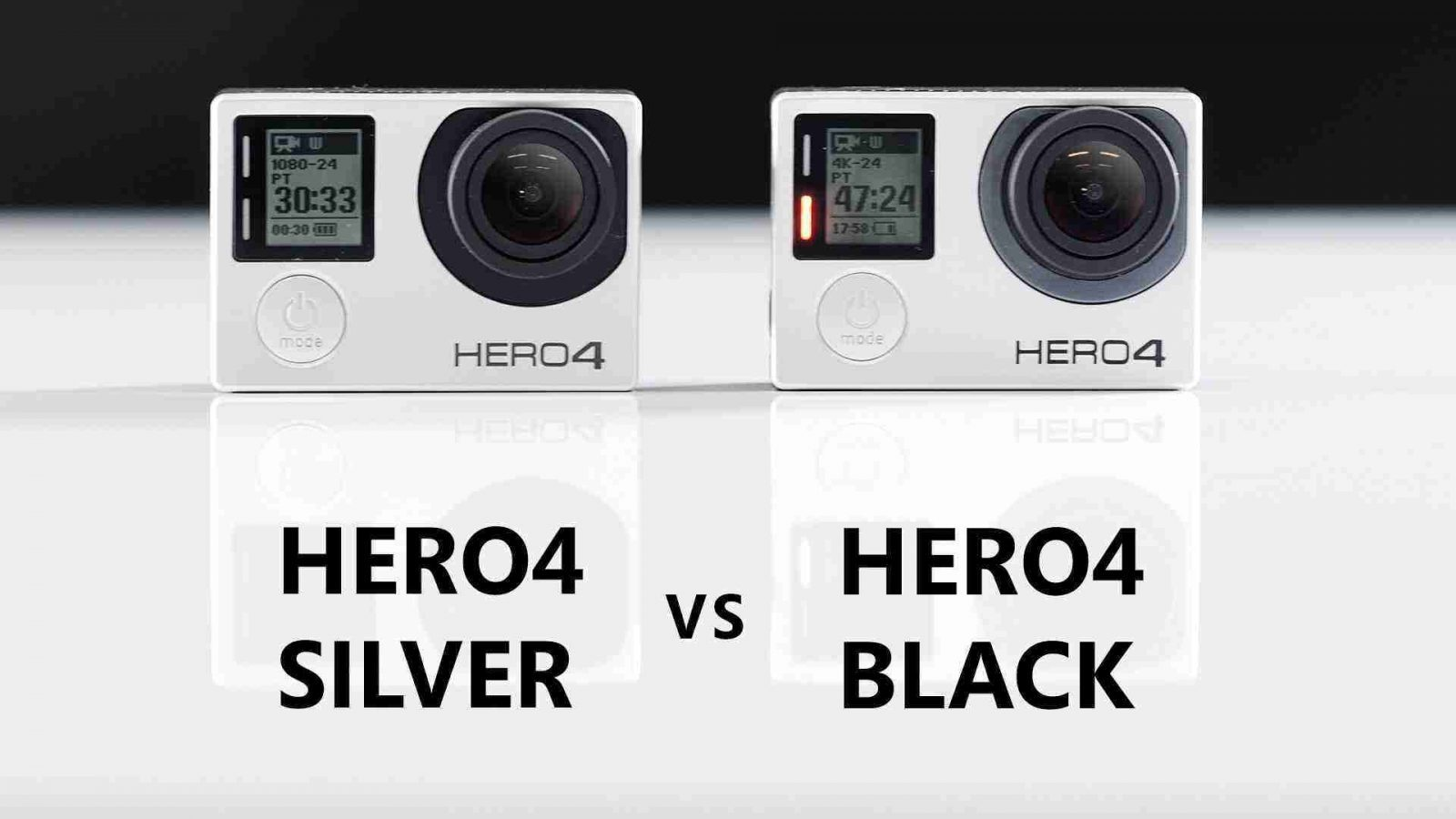 Gopro Hero 4 Silver ve Black