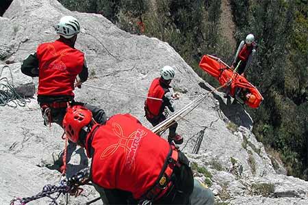 dağda kurtarma operasyonu