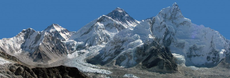 everest khumbu buzulu