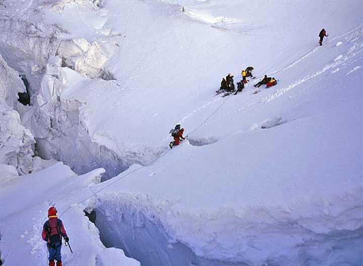 Elbrus Ushba buzulu