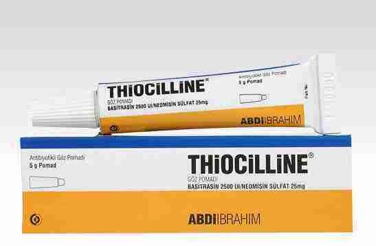 thiocilline antibiyotik merhem