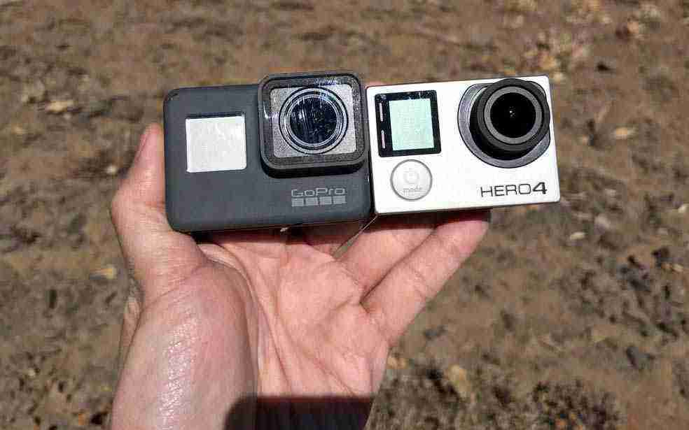 GoPro Hero 4 Black vs Hero 5 Black kıyaslama