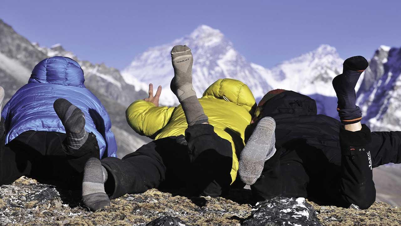 Yürüyüş ve dağcılık çorapları