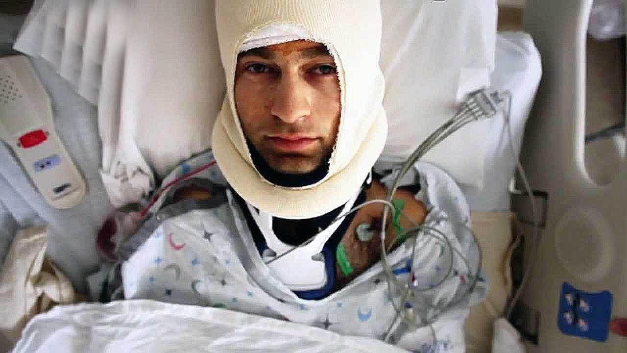 Renan Öztürk kaza sonrası