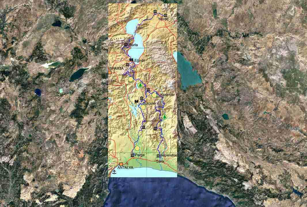 st paul yolu harita