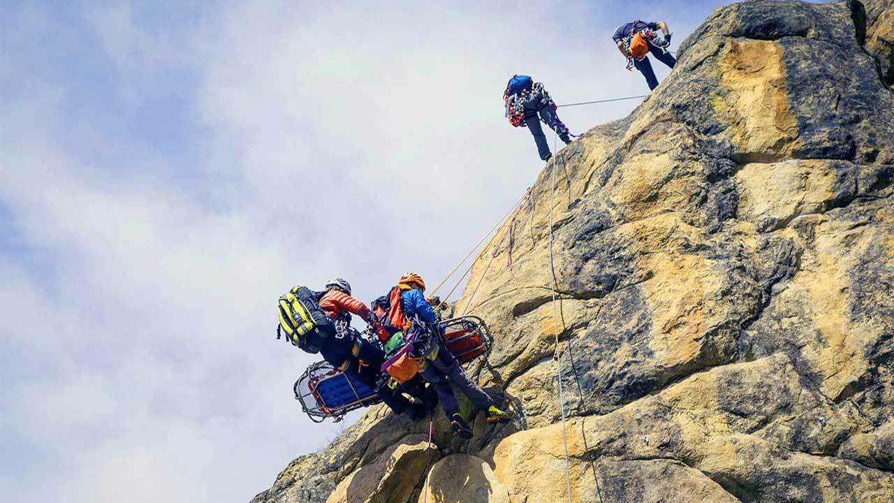 dağ kazası kurtarma