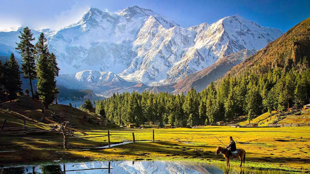 Nanga Parbat dağı
