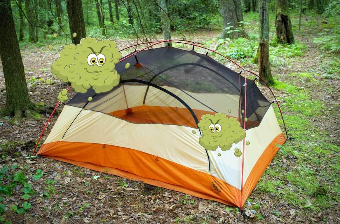 Çadırlarda kötü koku
