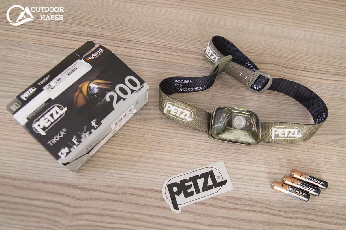 Petzl Tikka V6 Kafa Feneri