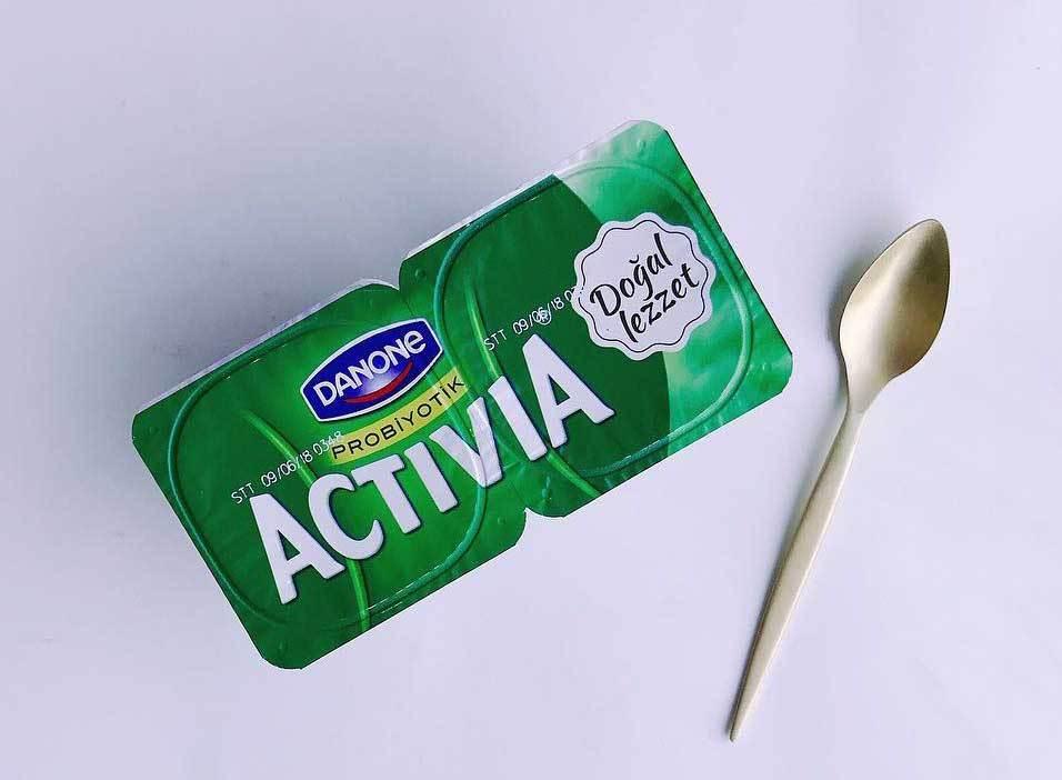 Danone Activia Sade Probiyotik Yoğurt