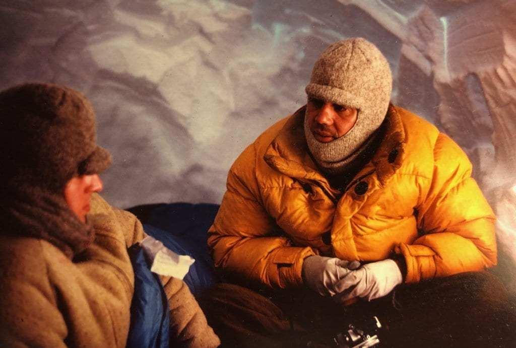 kar mağarasında kondüksiyon