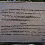 Pisidia Antik Kenti bilgi tabelası