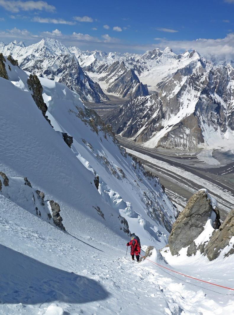 Broad Peak 6500 metrelerde