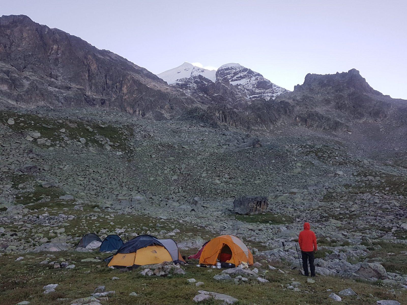 ikinci gün kamp alanı
