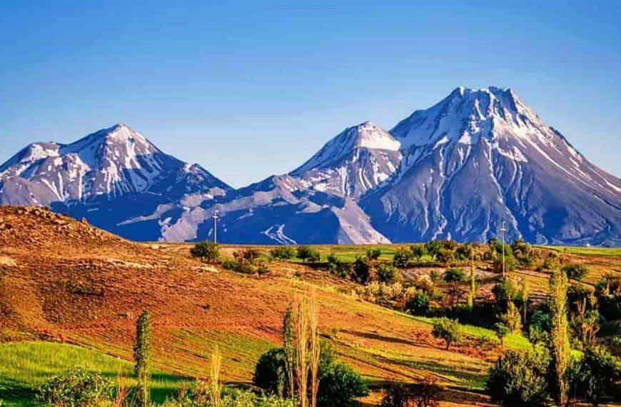 Türkiye'deki Dağlar (Zirvelerin Yükseklik Sıralı Listesi)