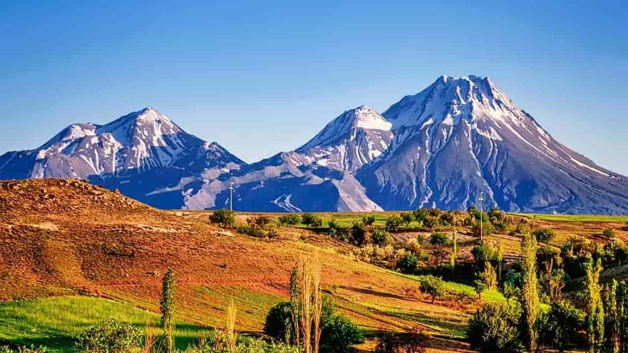 Türkiye'nin dağları ve zirveleri