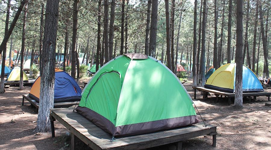 şile'de kamping