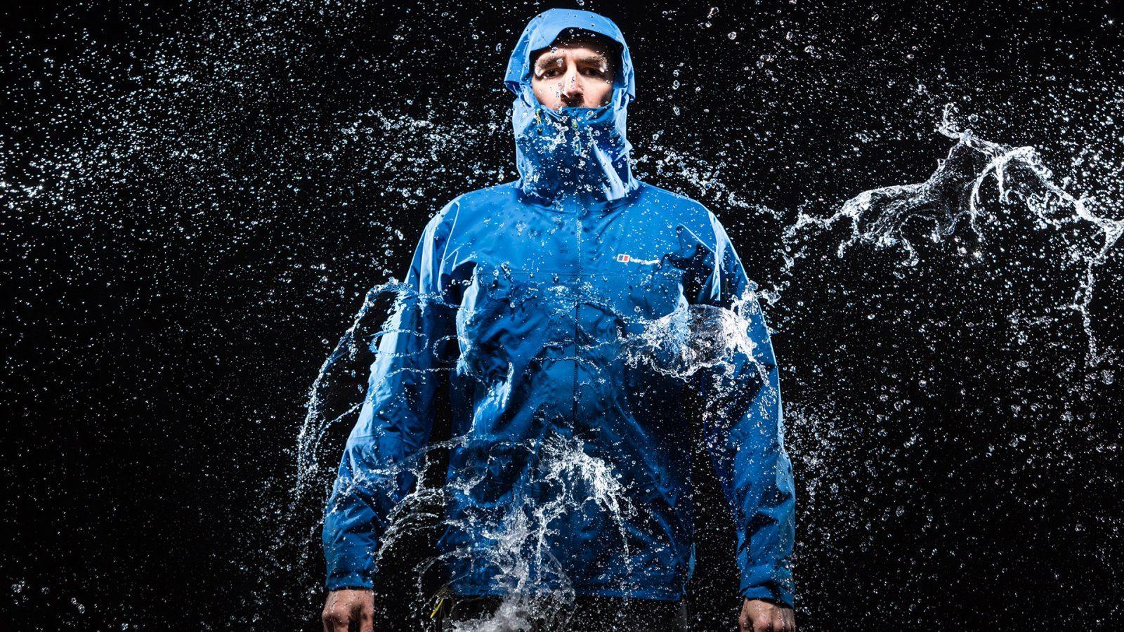 Su geçirmez nefes alabilir kumaştan mamul ceket