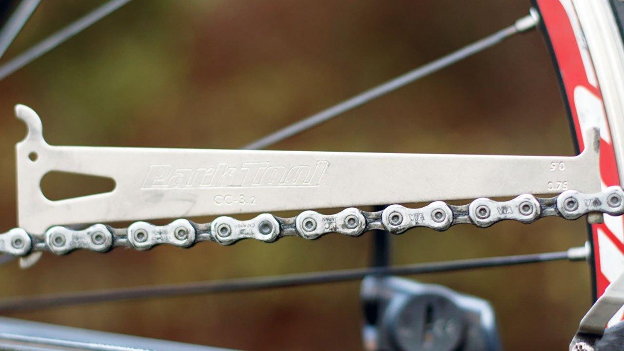 bisiklet zincir uzunluğu ölçümü