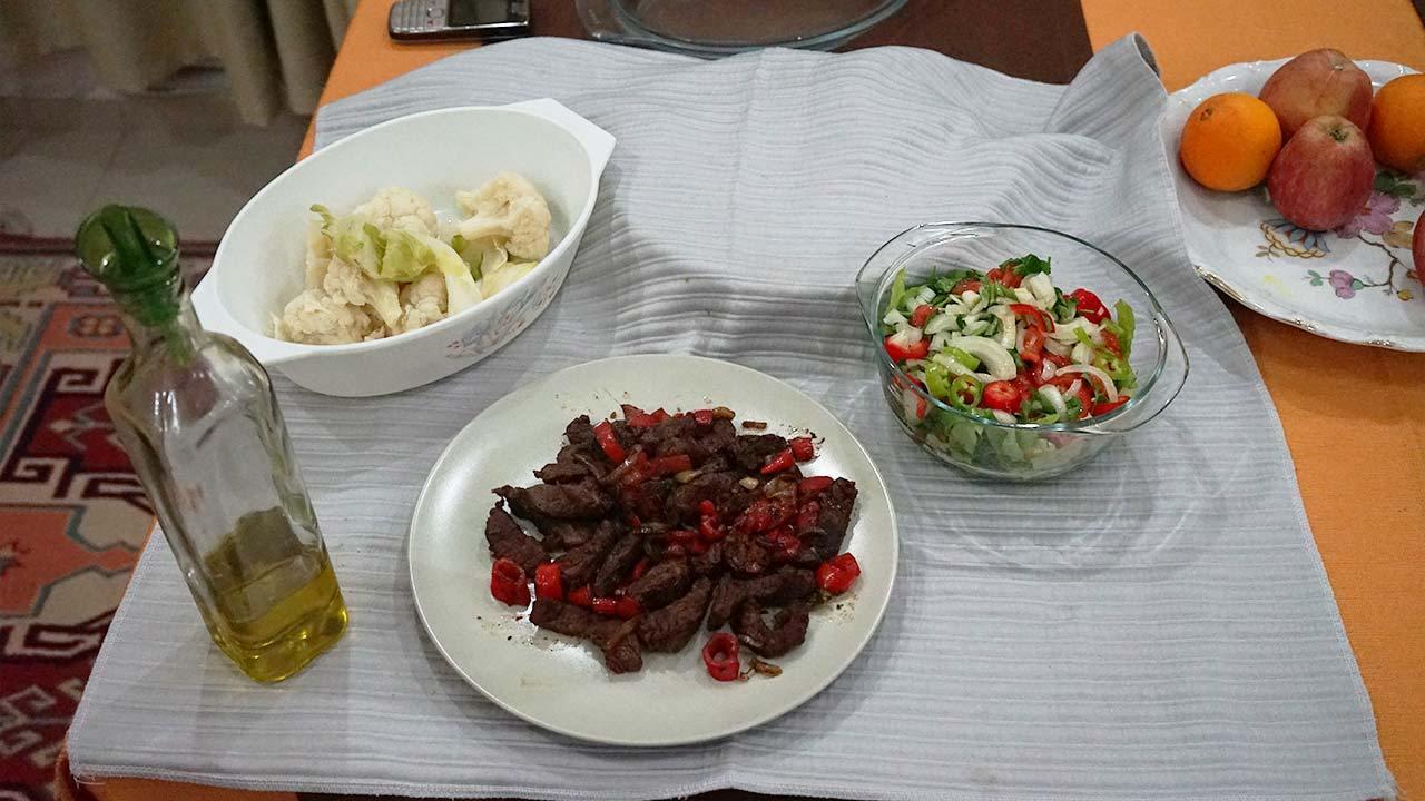 İsveç diyeti beşinci gün akşam