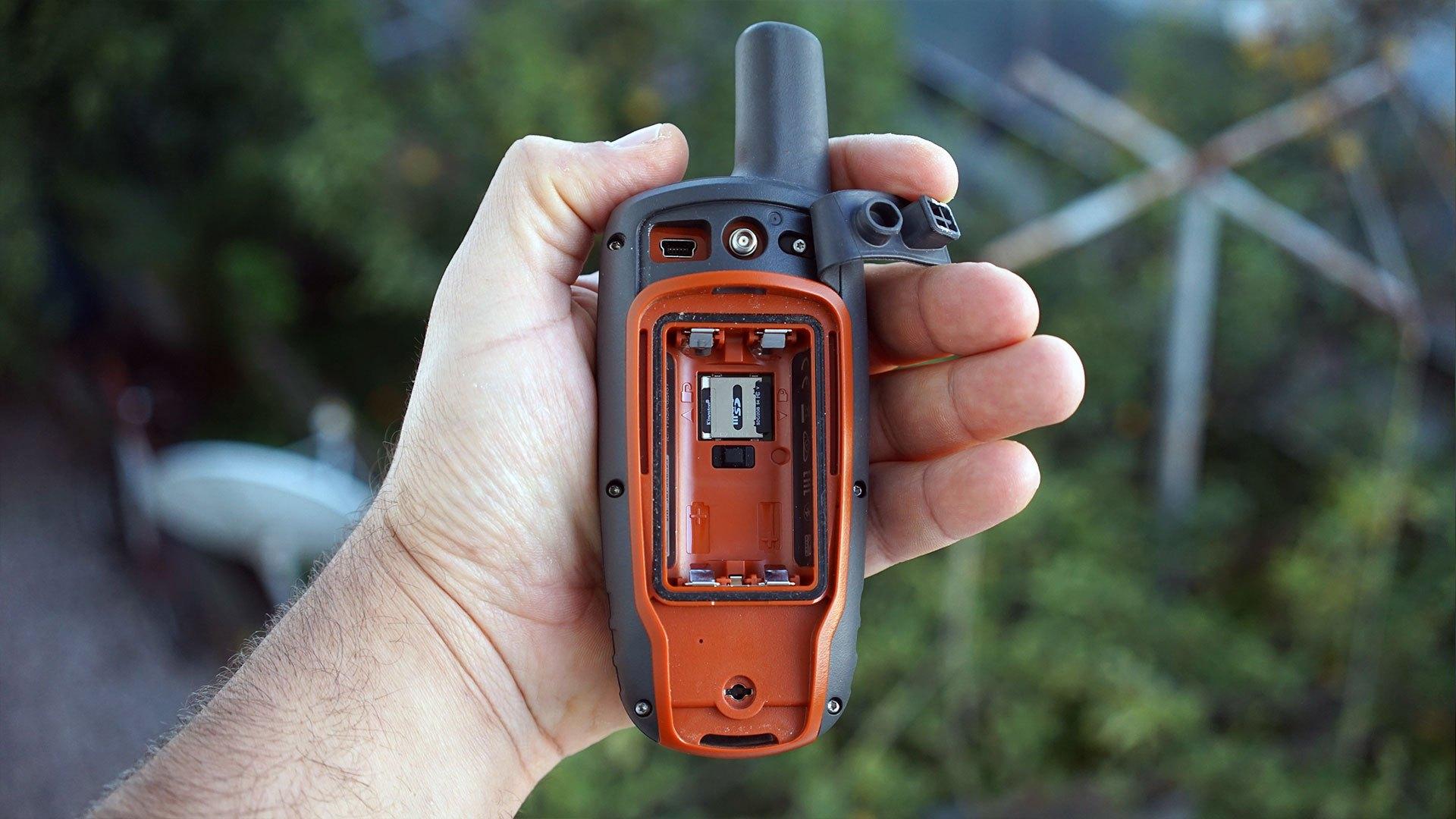 Garmin GPSMAP 64s arka