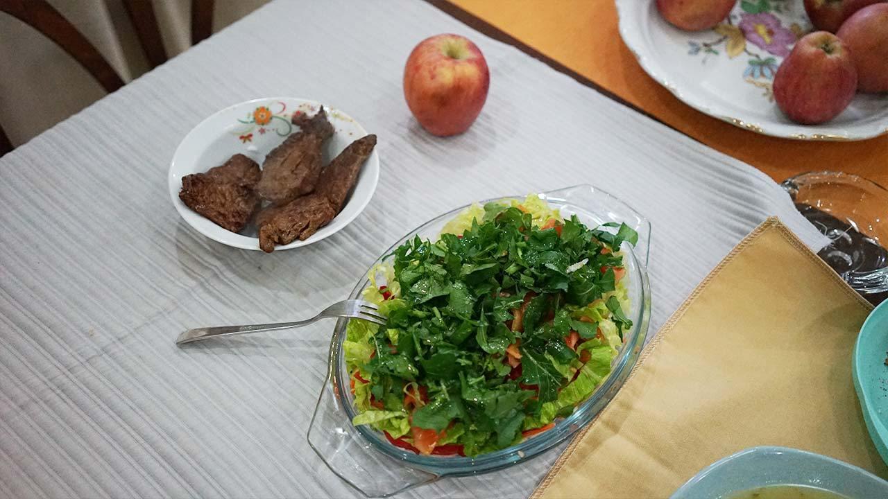 İsveç diyeti ikinci gün akşam