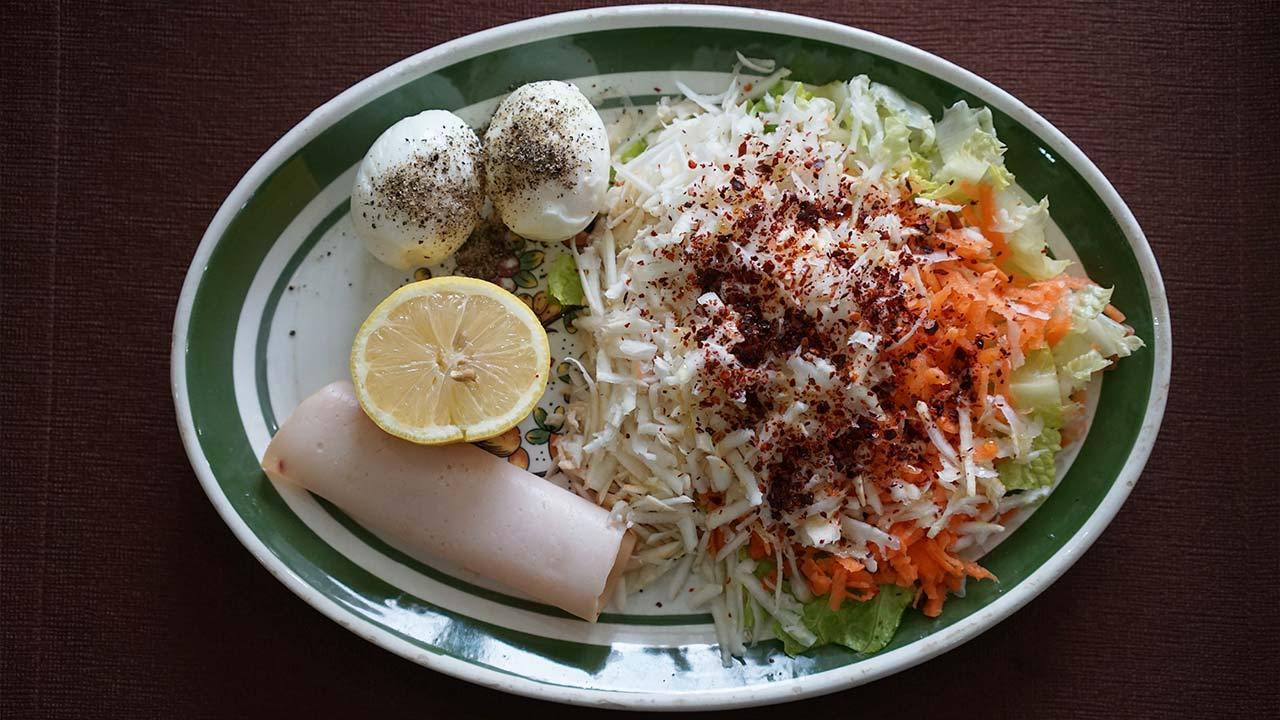 İsveç diyeti üçüncü gün öğlen