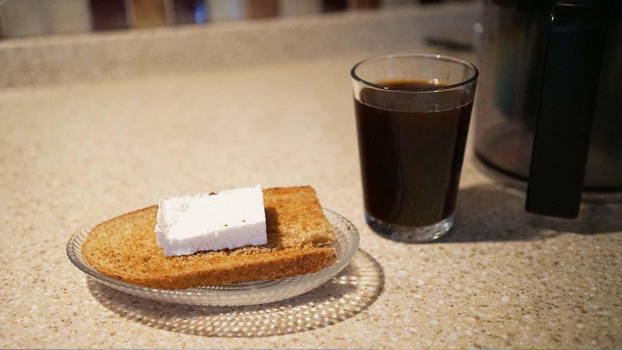 İsveç diyeti üçüncü gün sabah