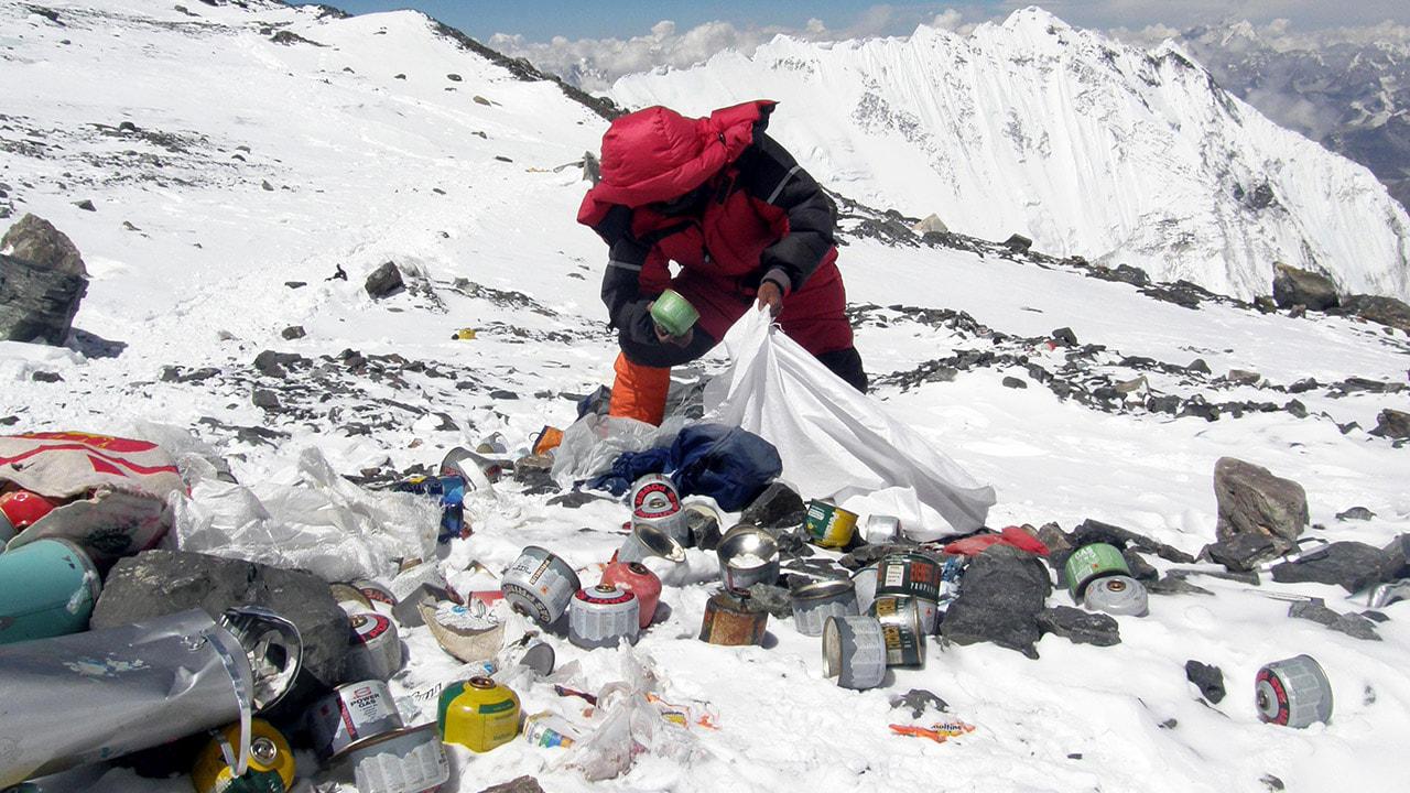 Everest'te temizlik