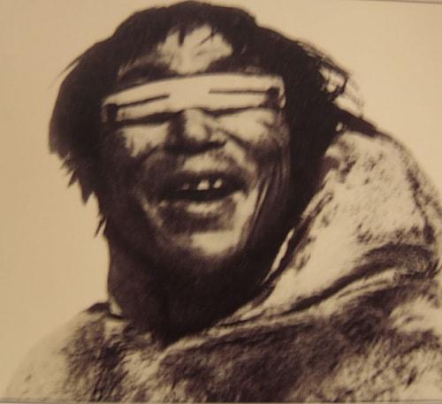 Inuitlerin güneş gözlüğü