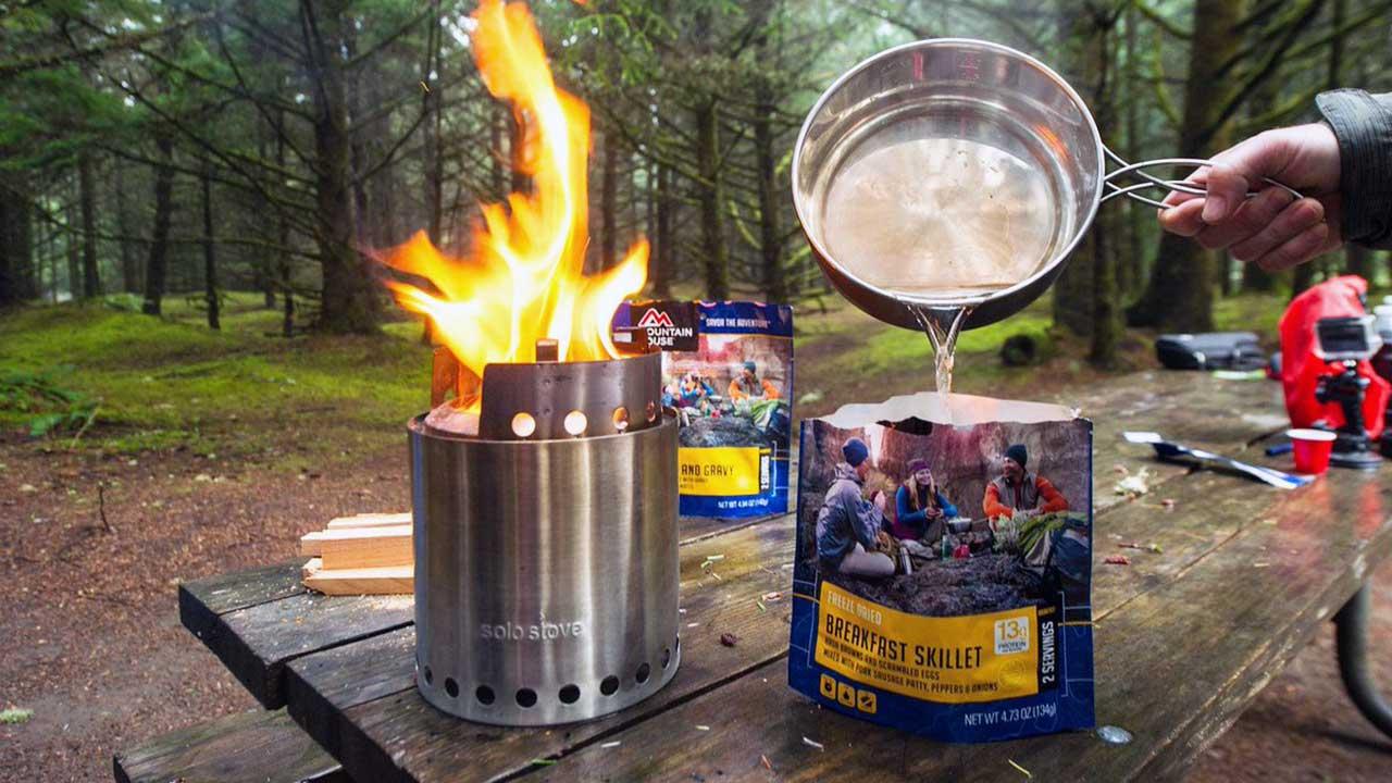 Mountain house dondurulmuş kamp gıdası