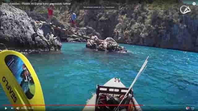 Deniz kanosu video