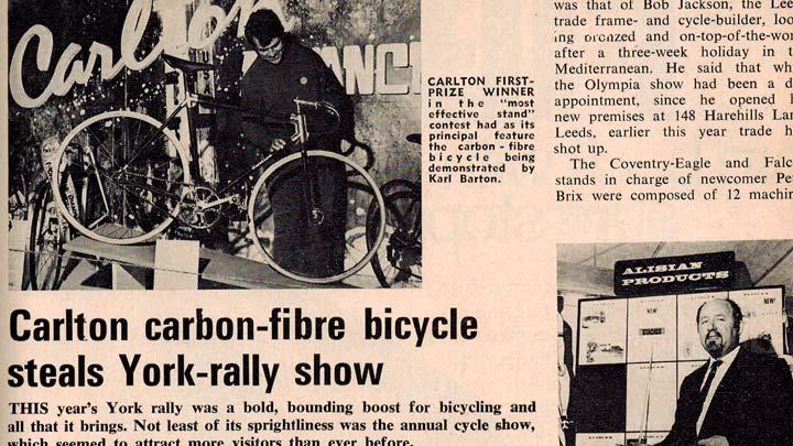 Carlton ilk karbon fiber bisiklet