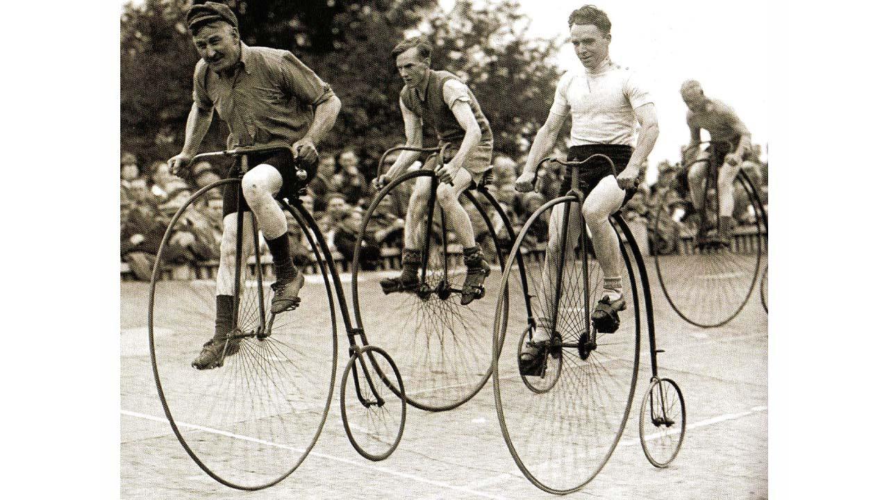 penny farthing bisiklet